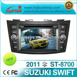 cheap car dvd For SUZUKI swift 2012 with gps navigation