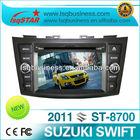 cheap car radio For SUZUKI swift 2012 with steering wheel control