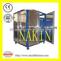 Hi-vac Dielectric Oil Dehydration & Degasification Plant