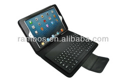 Bluetooth Keyboard Leather Case Pouch for ipad mini