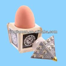 Ceramic big hen egg holder and salt cellar