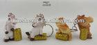 2014 Symbol new Year - polyresin horse key chain souvenir