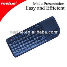 2012 hot sale mini wireless keyboard and mouse combo