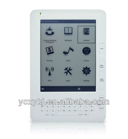 6inch eink Ebook with Wifi Function /3G function option