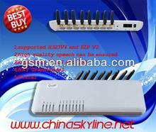 Goip 8 voip gateway/ sim card gps tracker Support IMEI change