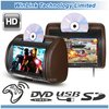9 inch DVD Headrest monitor(zip cover & wireless headphone optional)