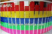 new Hotsale 2012 car led music sticker rhythm light/EL equalizer light 70*16CM