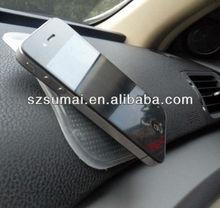 2012 silicone car phone anti slip pad/OEM magic anti slip pad/ paypal acceptanti slip car pad