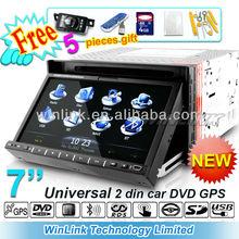 Auto radio gps car dvd 2 din