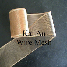 Hot sale Pure Brass Mesh for electricity / filter / shielding ----- 30 years factory