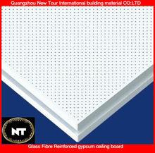 600*600mm Glass fibre reinforced foil back gypsum ceiling boards