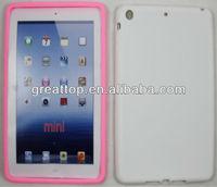high quality soft silicon case for ipad mini