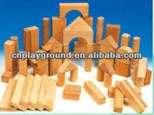 New Design Interesting Wood Educational Interlocking Building Blocks (HB-18804)
