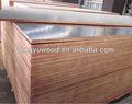 Materiais utilizados na construção civil / filme enfrentou a madeira compensada