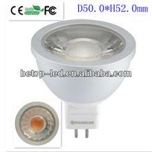 2012 hot sale COB 6w spots led spot light mr16 220V gu5.3 led spot lamp,CE ROHS