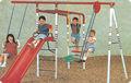 Plástico slide e swing lt-2108c