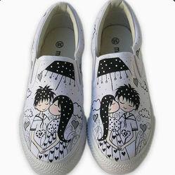 ZY-WD-5 2013 Newest Fashion Designer stretch canvas shoes