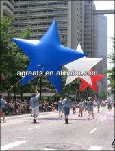 inflatable star, helium balloon, inflatable pentagram ballon S3083