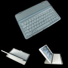 Bluetooth Keyboard Aluminium Case Cover Wireless for ipad mini White