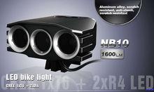 2200LUMEN power beam flash light mount