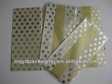17gsm Gold Polka Dot Wrapping Tissue Paper
