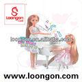 loongon Silikon-Babypuppen für gesetzte gemeinsame Puppe der Verkauf Art- und Weisepuppe