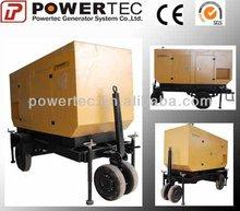 portable trailer 570kw diesel generator set