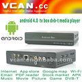 Vcan مربع تلفزيون dvb - t وسائل الاعلام لاعب سيارة 4.0 الأفقي والرأسي هوائي التلفزيون