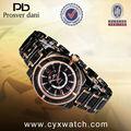 шэньчёэнь моды для мужчин часы из розового золота диск для оптовой продажи 2012 наручные часы