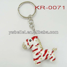Fashionable hot selling promotional keychain for gift
