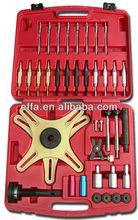 38PCS Self Adjusting Clutch Tool Kit Compressor Set with Case