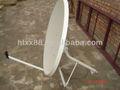 Tv satélite antena&& banda ku antena de prato