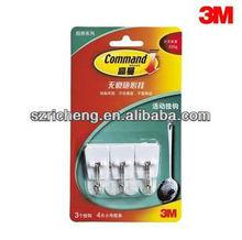 3M Command Plastic removeable no damage No mark hook