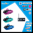 Wireless radio control plastic submarine toy