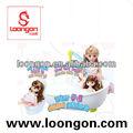 loongon juguete de la muñeca de moda sistema de la muñeca de silicona para bebés reborn muñecas para la venta