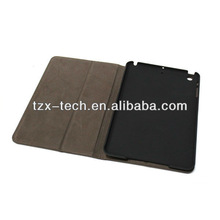 book leather case for ipad mini protective case