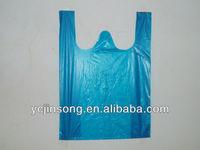 hdpe recycle plastic bag t-shirt bag