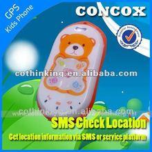 2012 Christmas gift for kids children gps mobile phone , Global GPS Tracker for Kids' Safe GK301, Real Time Tracking