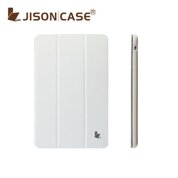 Tablet case for iPad Mini case girl wtih top quality premium leather from Jisoncase shipping for MiniTablecovers
