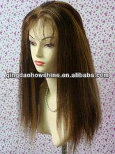 High grade 100% Brazilian virgin remy hair full lace wig
