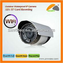 PTZ Wireless WaterProof Cmos pan tilt Wifi zoom IP Camera outdoor With 3X Optical Zoom 22 IR