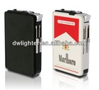 metal cigarette case with lighter