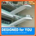 304 de acero inoxidable de acrílico transparente de la pared/pasamanos de escaleras soportes