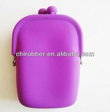 2013 silicone rubber fashion women ease purse