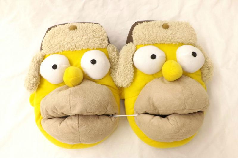 Тапочки Гомер Симпсон Simpsons - multcult ru