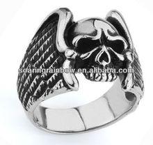 wholesale stainless steel skull rings for men