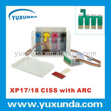 2012 newest, XP306 ciss kit with auto reset chip