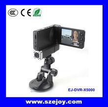 Best Sellin!!! Car DVR 3 Channel with 2.7 LCD Screen EJ-DVR-X5000