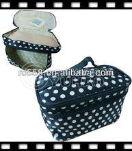 2013 Cheap Cut travel cosmetic bag with zipper
