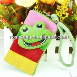 Cute cartoon animal mobile phone bag